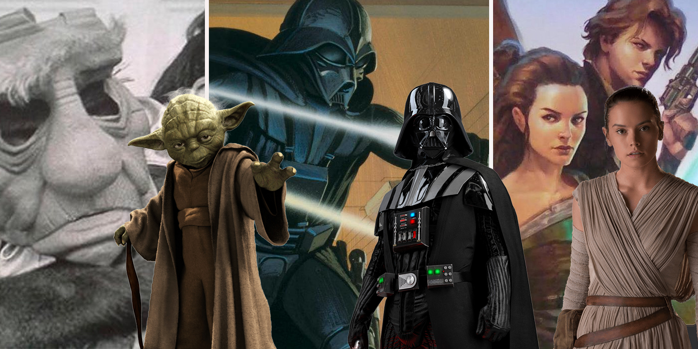 Star Wars Characters Who Were Almost Completely Different