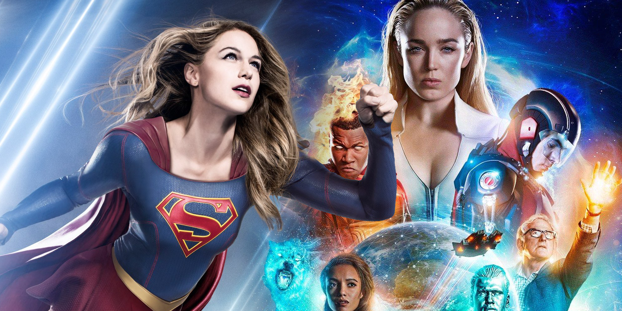 Supergirl Legends of Tomorrow The CW