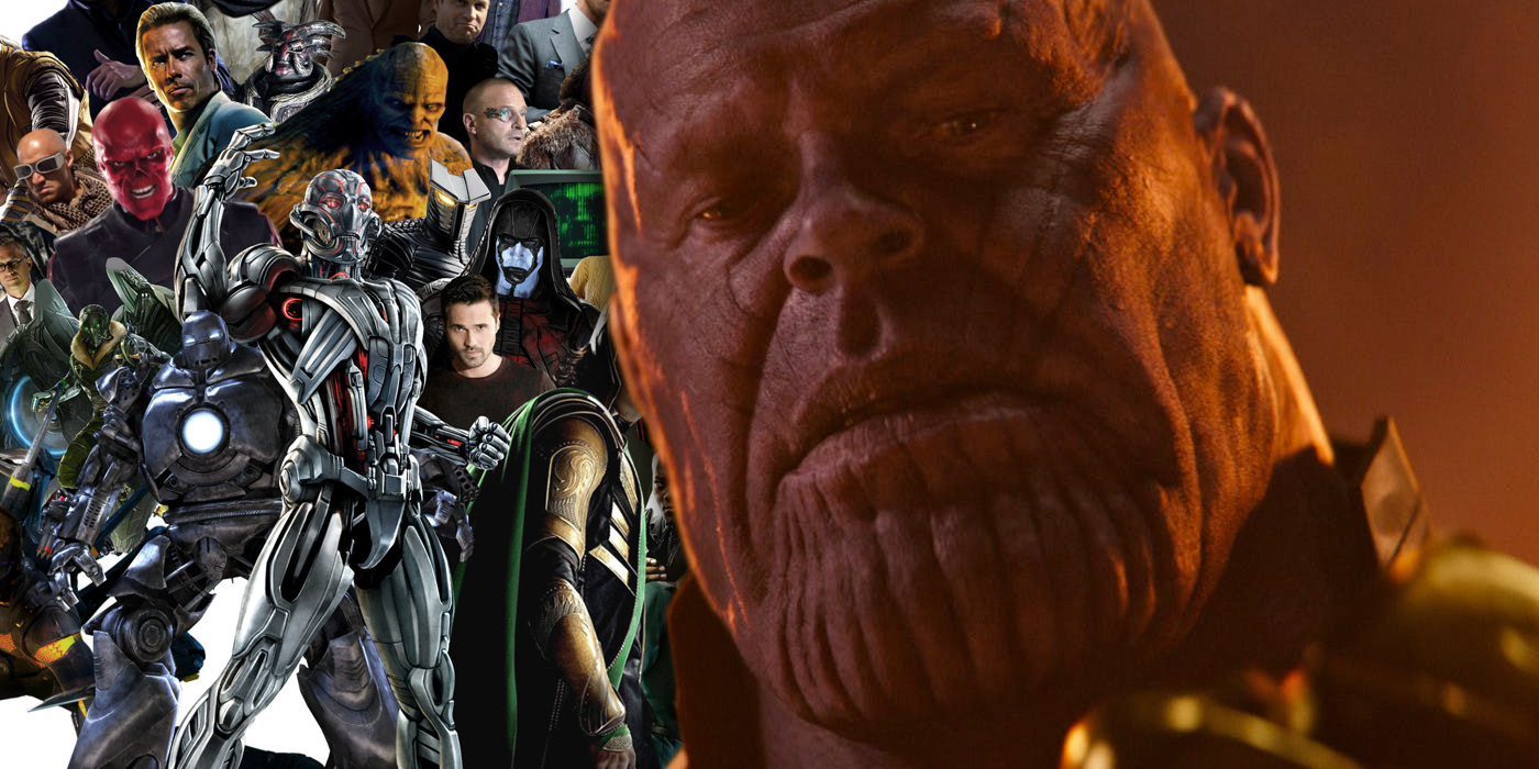 Thanos in Avengers Infinity War and Marvel Villains