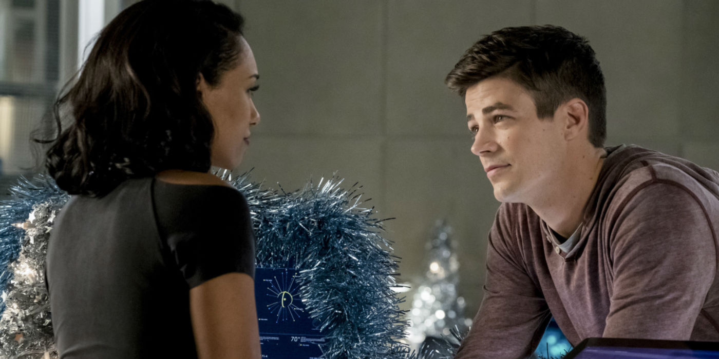The Flash Season 4 Midseason Finale Iris Barry