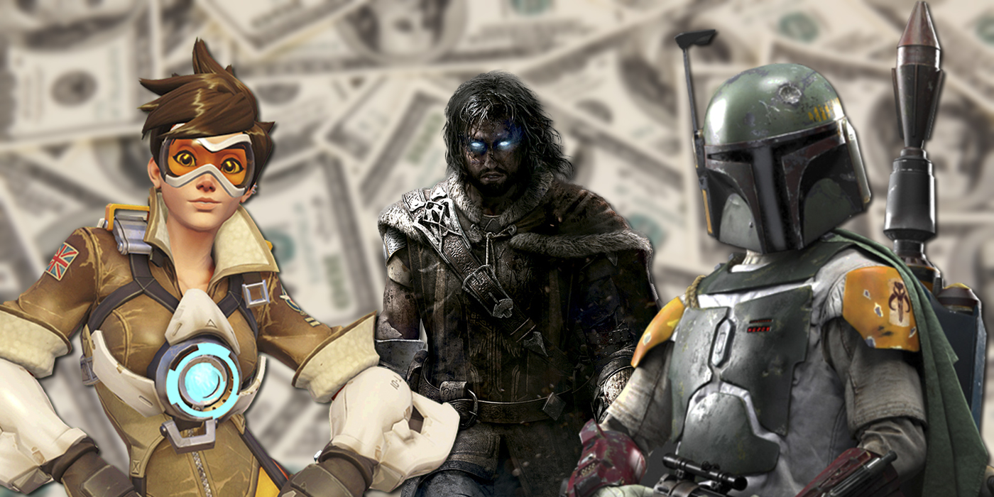 The Loot Box Problem Goes Deeper Than Battlefront II - Tracer, Boba Fett, and Talion