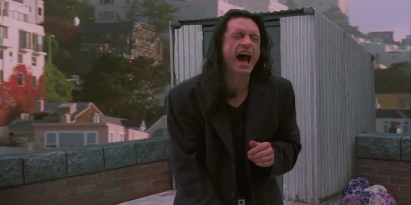 Watch Tommy Wiseau Reenact Disaster Movie Moments