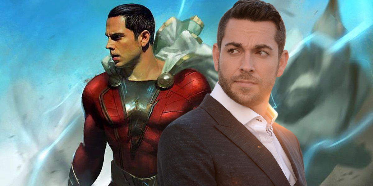 Shazam! Set Photo Offers First Look at Zachary Levi in Costume
