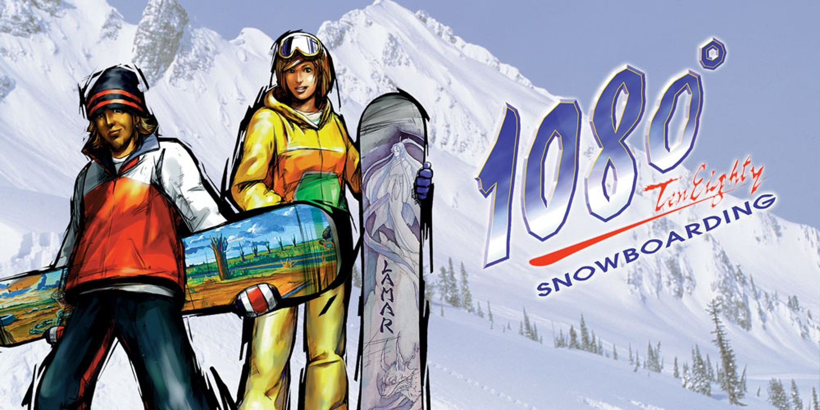 1080 Snowboarding Virtual Console Cover