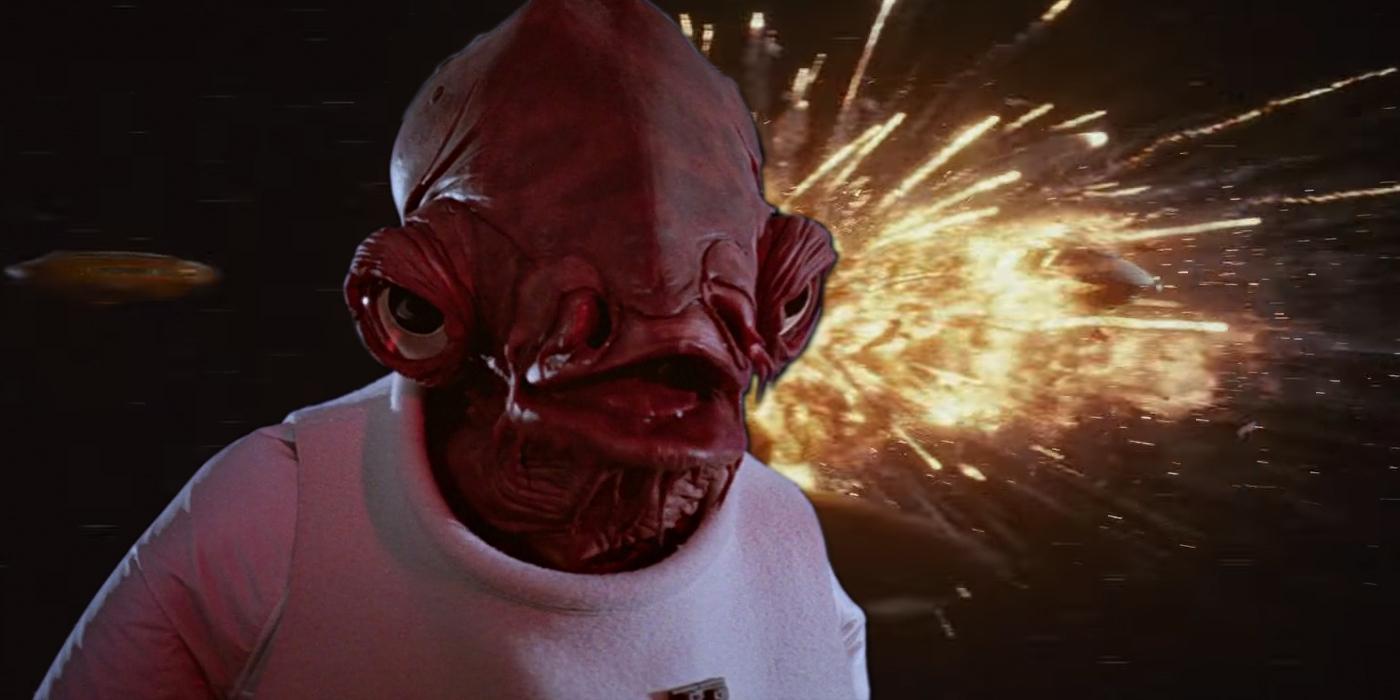 Admiral Ackbar in Star Wars