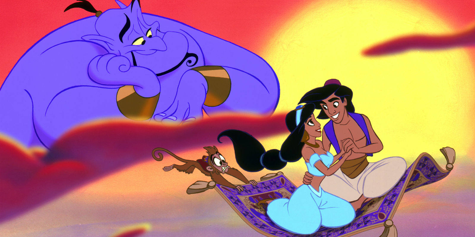 Aladdin Jasmine and Genie