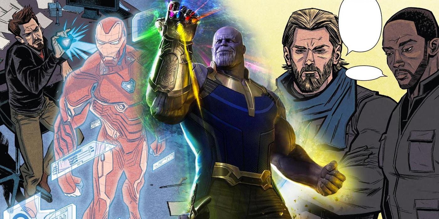 Infinity War Prelude 1 ile ilgili görsel sonucu