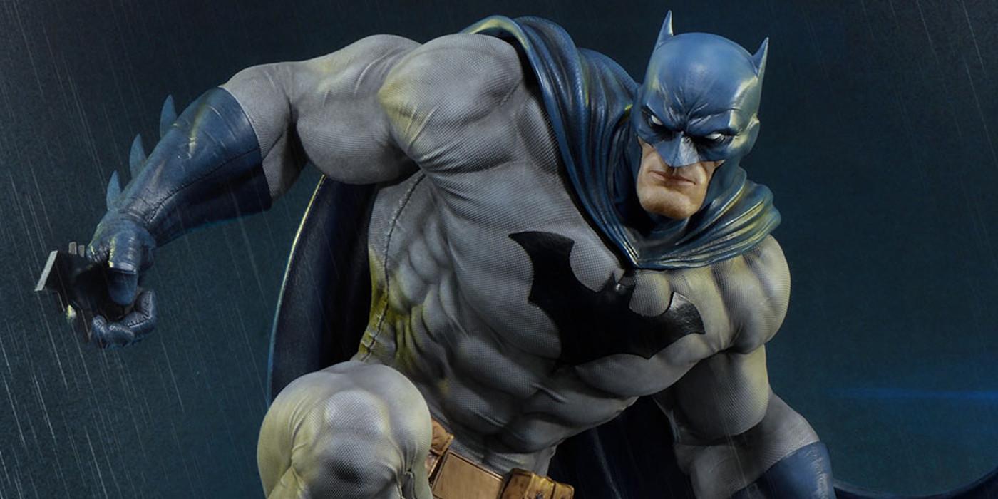 Batman Statue Based On Jim Lee Hush Design