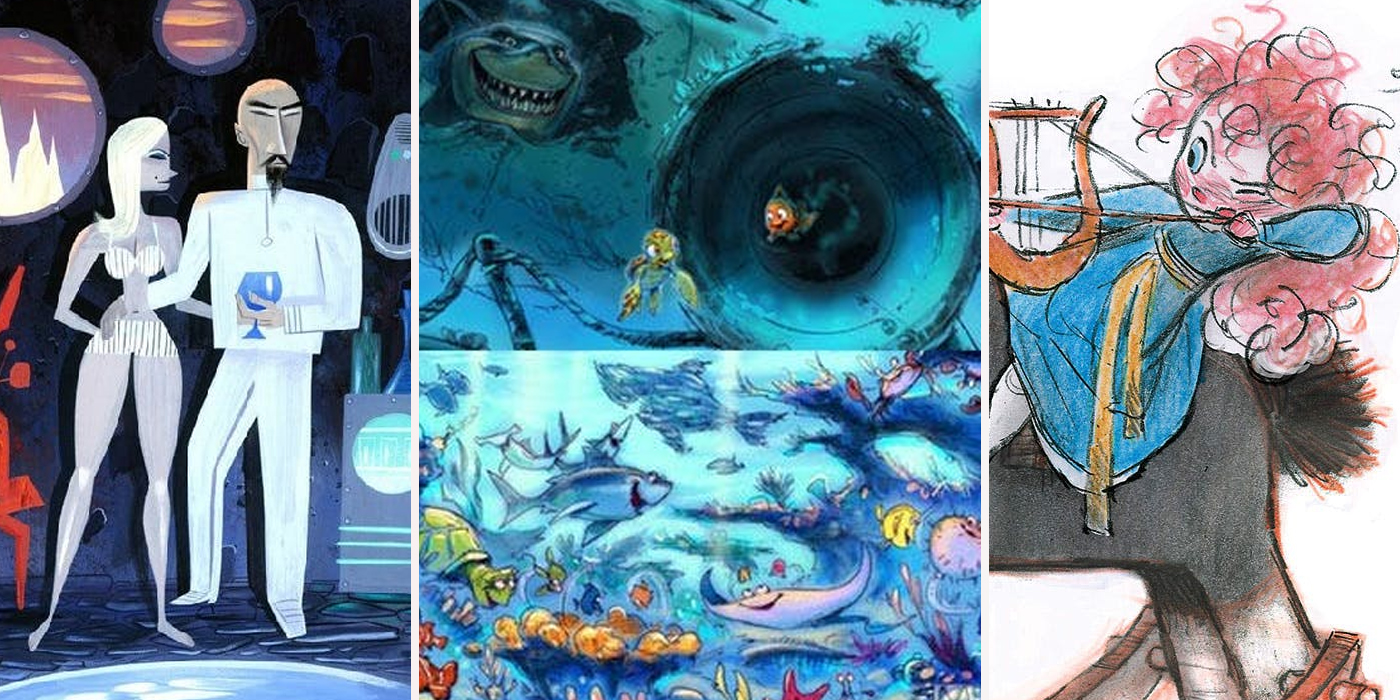 Art Designs: Pixar Concept Art Designs Better Than What We Got