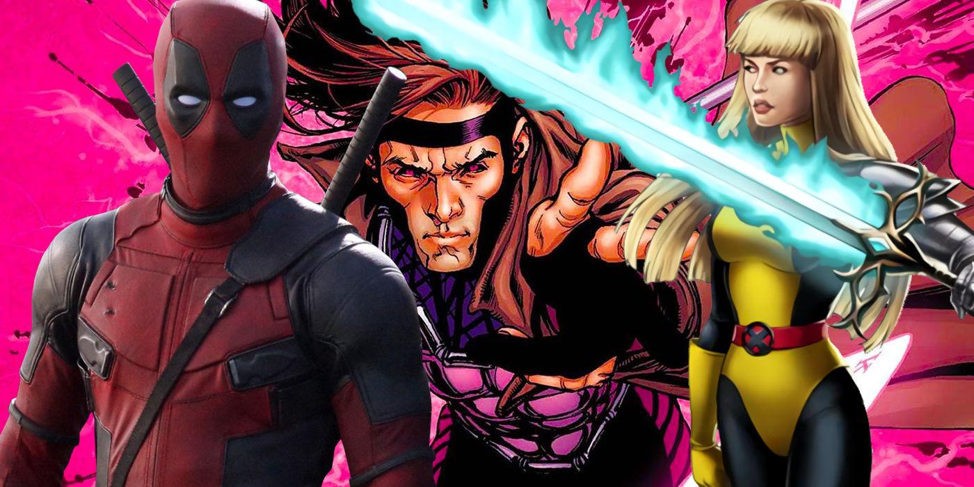 Resultado de imagem para deadpool 2, new mutants and gambit