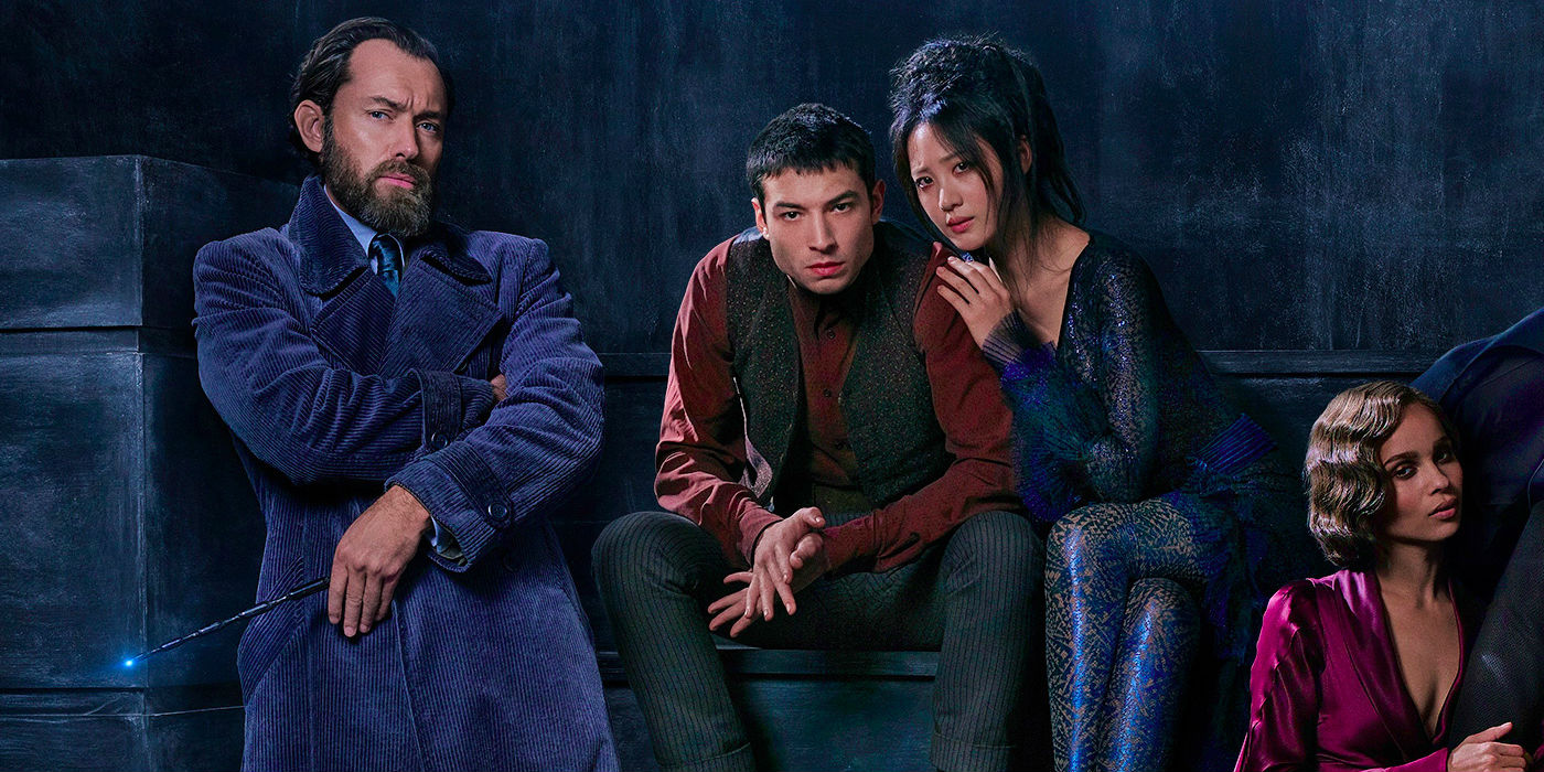 Fantastic Beasts 2 - Dumbledore Credence and Maledictus