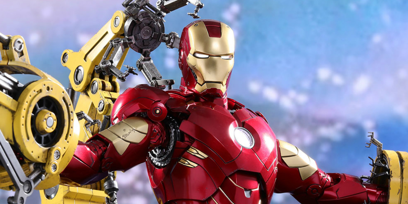 Coolest Man Toys : Check out hot toys coolest iron man figures yet