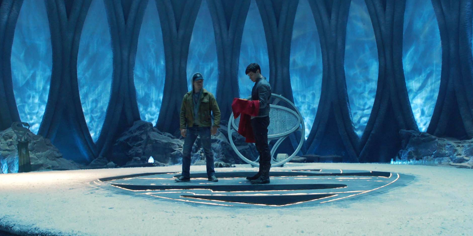 Krypton Fortress of Solitude Syfy