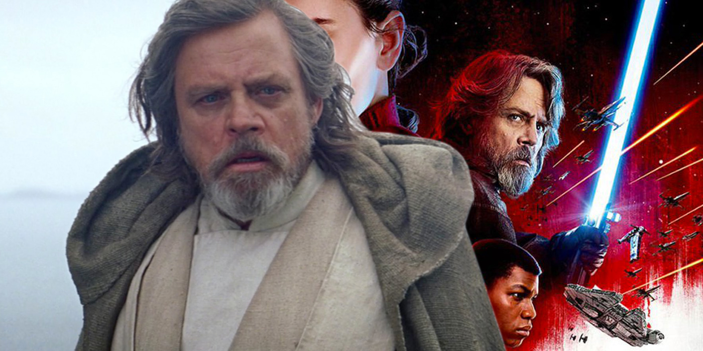 Mark Hamill as Luke Skywalker in Star Wars The Force Awakens and The Last Jedi