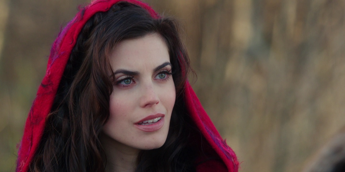 Meghan Ory as Ruby Lucas Red Riding Hood in Once Upon A Time