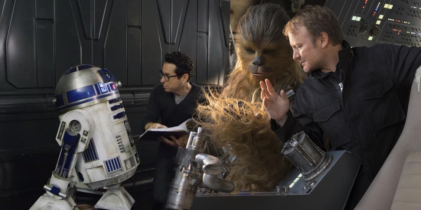 Rian Johnson and JJ Abrams Directing Star Wars