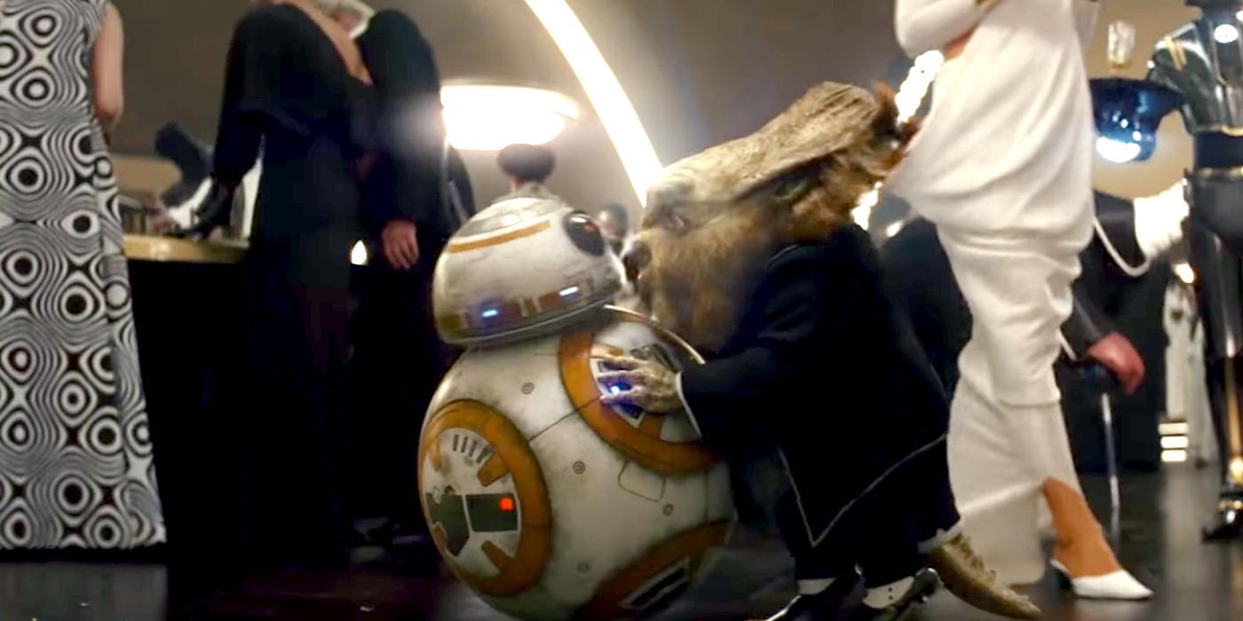 Star Wars 8 The Last Jedi BB8 and Dobbu Scay Canto Bight