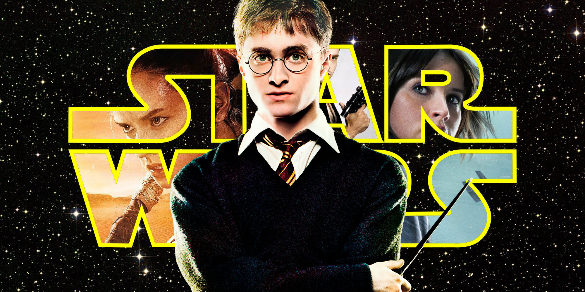 Star Wars Franchise Passes Harry Potter At Worldwide Box fice