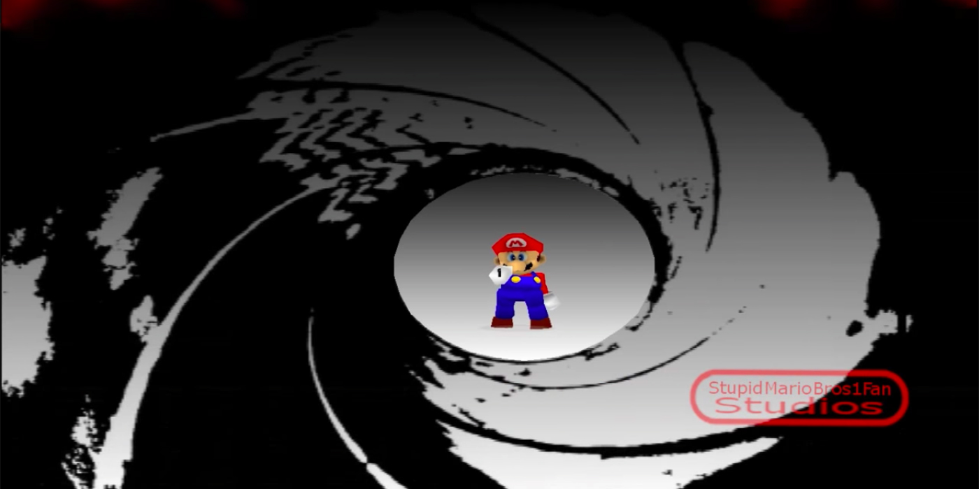This GoldenEye 007 Mario Mod Looks Amazing