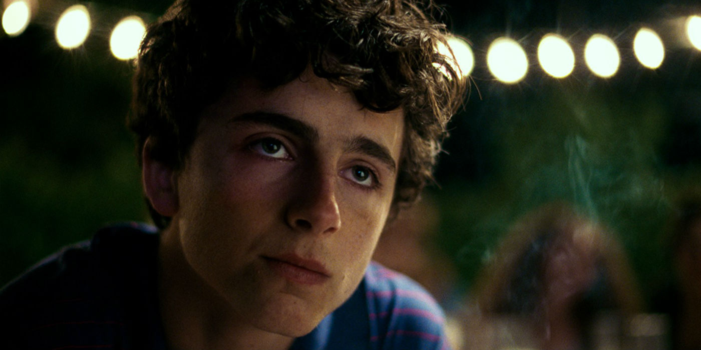Timothee Chalamet in Call Me by Your Name (photo: Sony Pictures Classics)