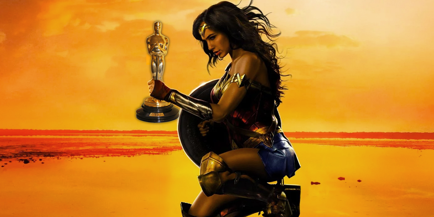 Wonder Woman with an Oscar