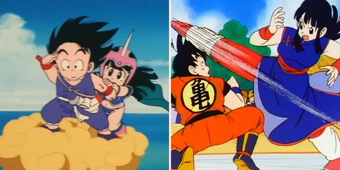 dragon ball chichi and goku