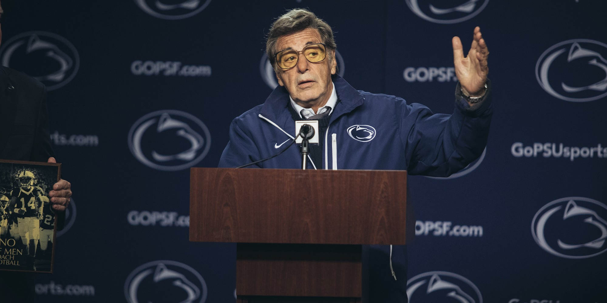 First Full Trailer For HBO's Paterno   Screen Rant