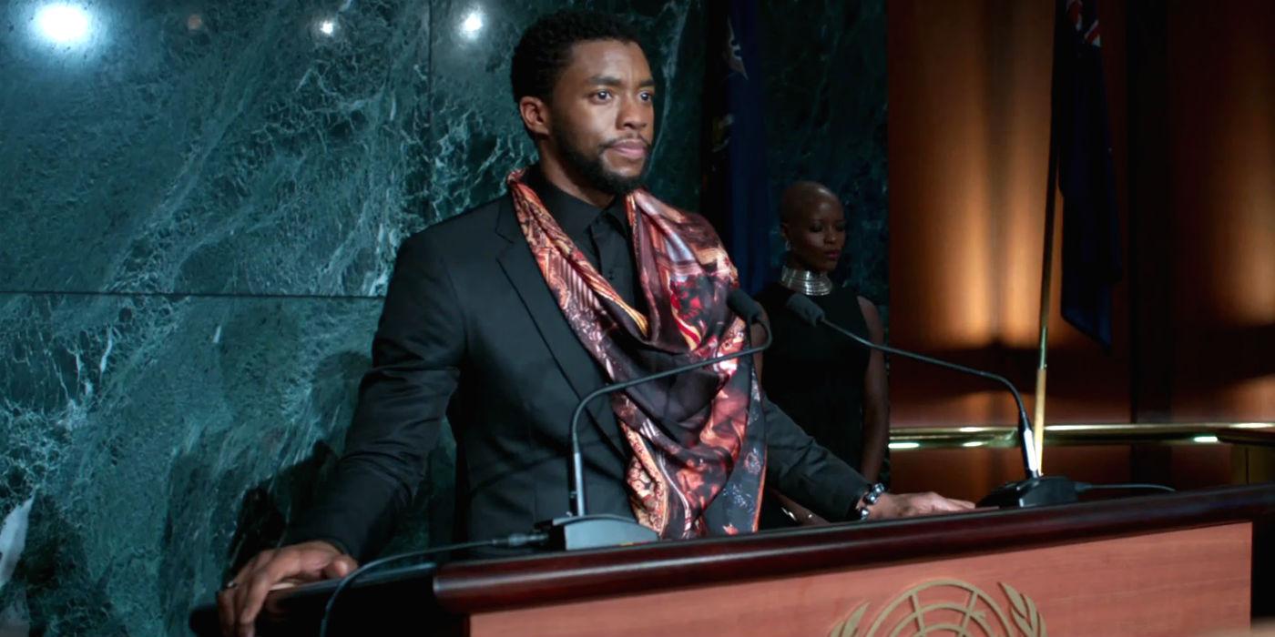 Black Panther - Mid-credits scene