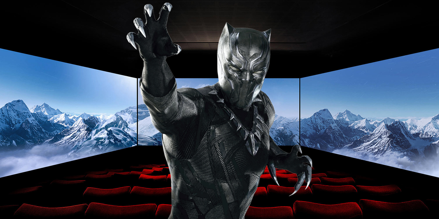 Black Panther to Be Shown in 270-Degree ScreenX Format
