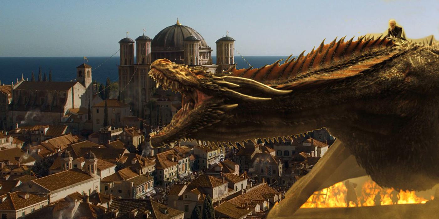 Drogon King's Landing