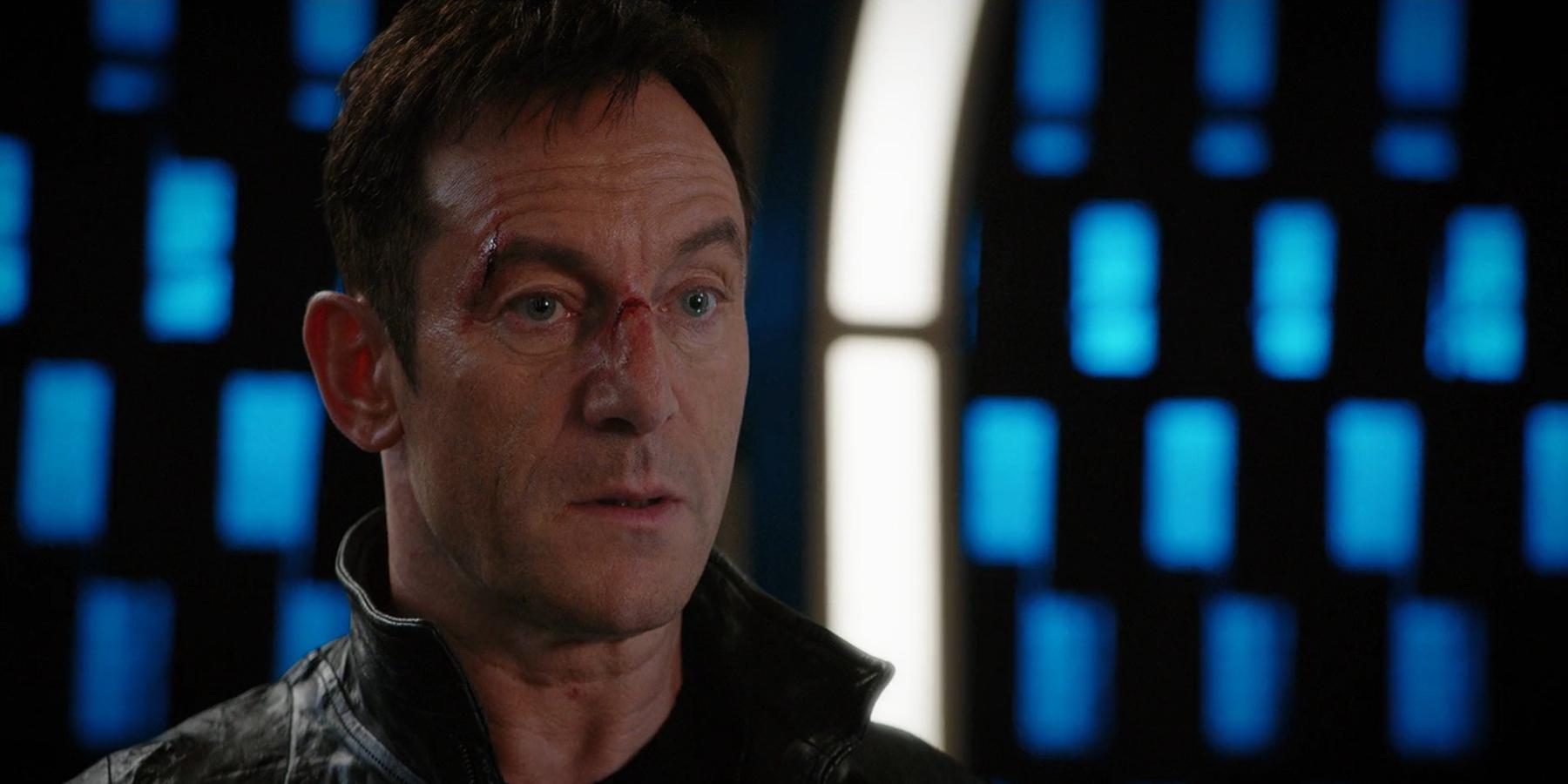 Jason Isaacs as Captain Gabriel Lorca in Star Trek Discovery