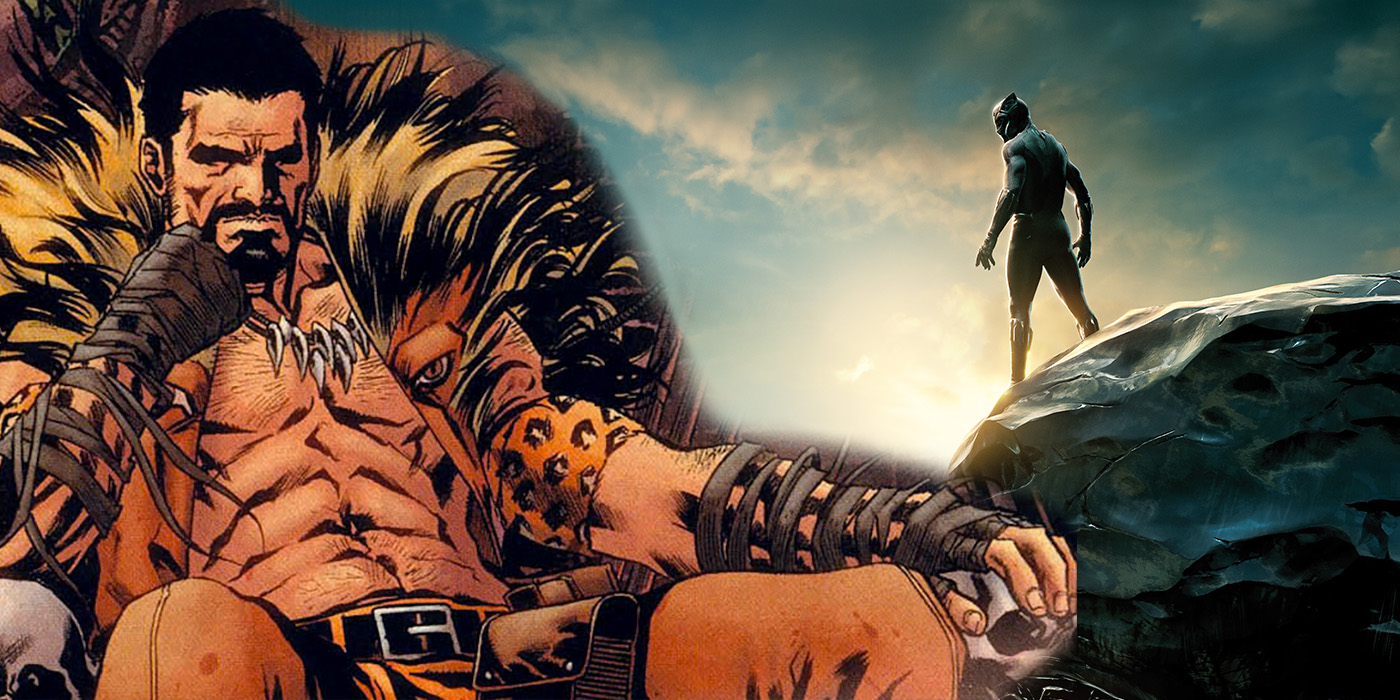 Kraven the Hunter Black Panther