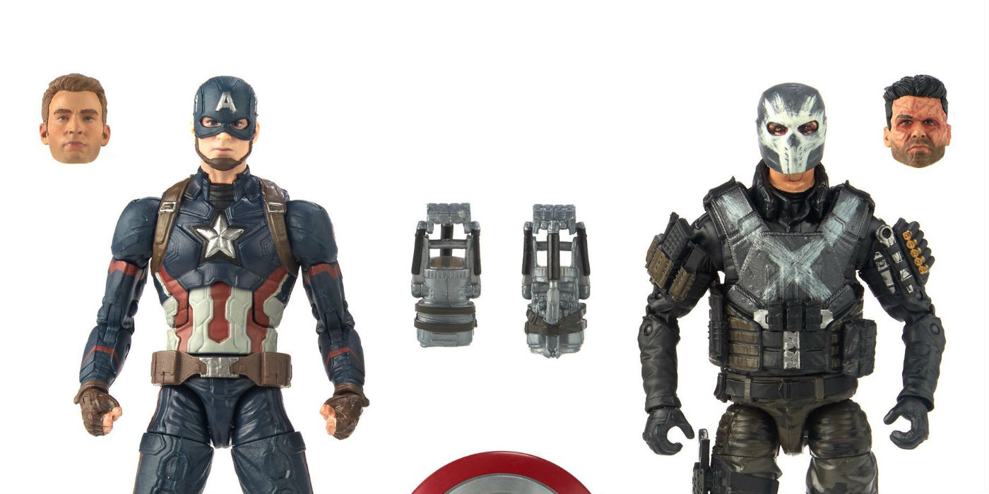 Marvel Legends MCU 10th Anniversary Captain America and Crossbones (photo Hasbro)