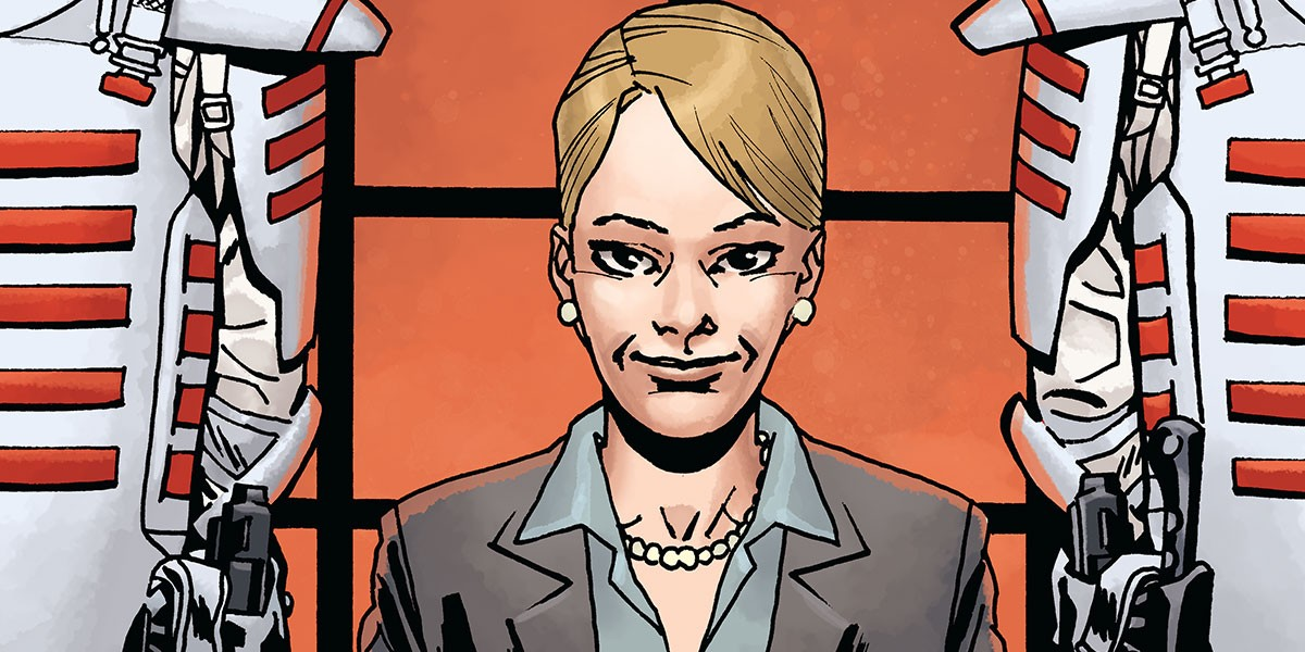 Pamela in The Walking Dead comic