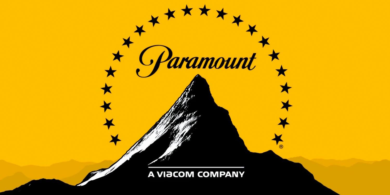Paramount Logo in Yelllow