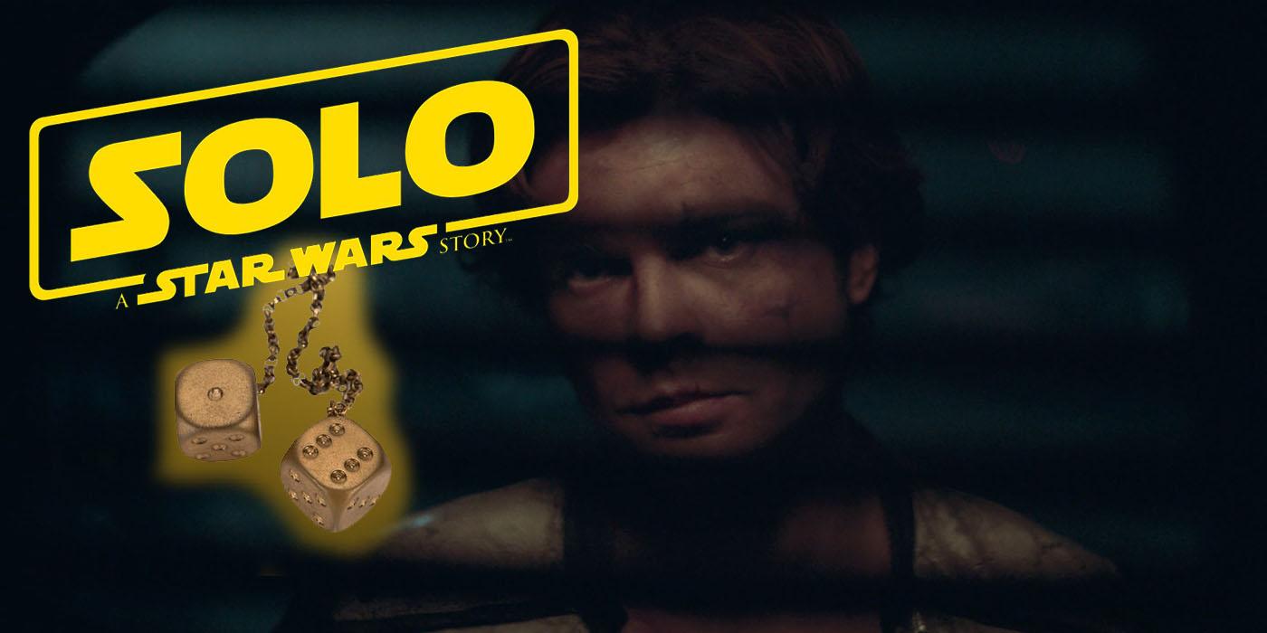 Solo: Han Solo's Gold Dice Are In The Solo Movie Trailer