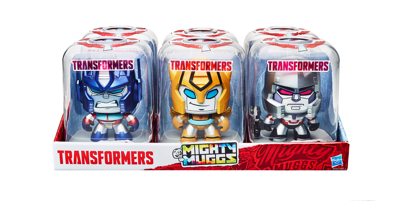 Toys From Hasbro : Exclusive transformers gets its own mighty muggs line