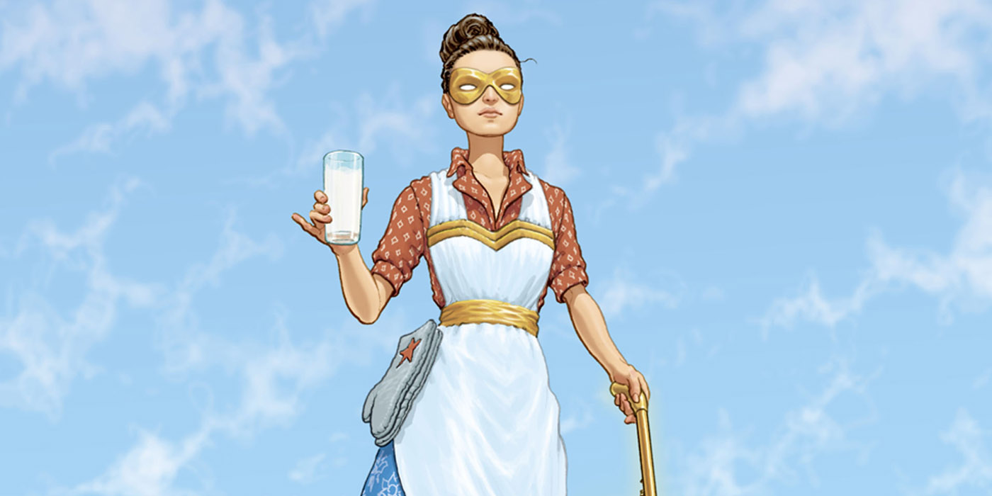 Wonder Woman Wife in DC Young Animal Crossover Milk Wars