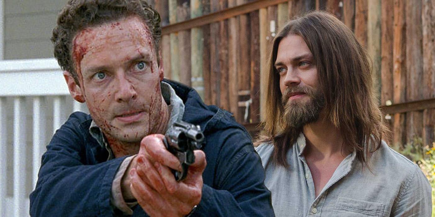 Aaron and Jesus The Walking Dead