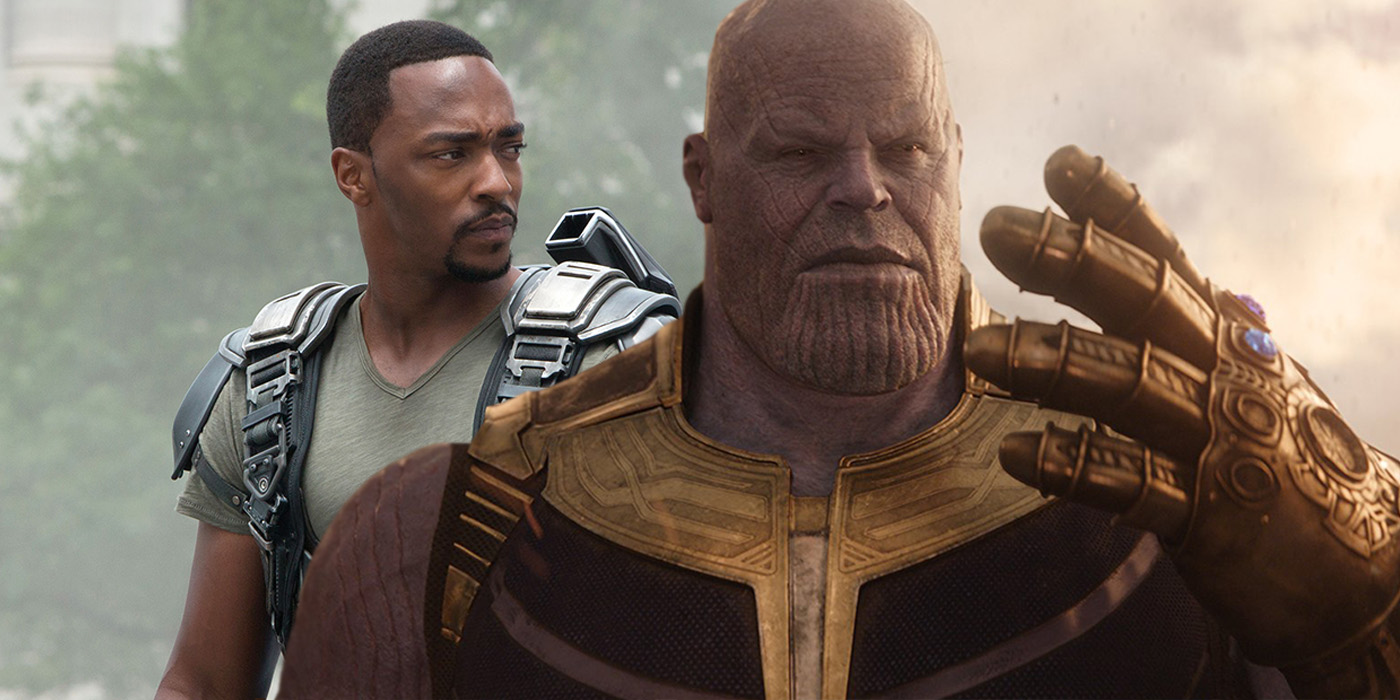 What falcon thinks of thanos in avengers infinity war - Faucon avengers ...