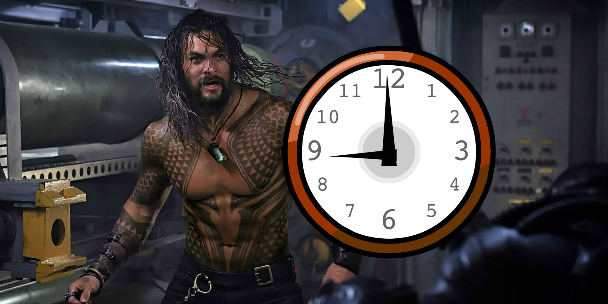 when will the first aquaman trailer release screen rant