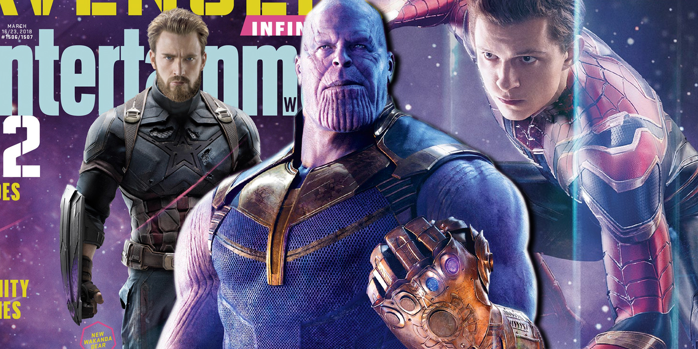 Avengers Infinity War EW Covers