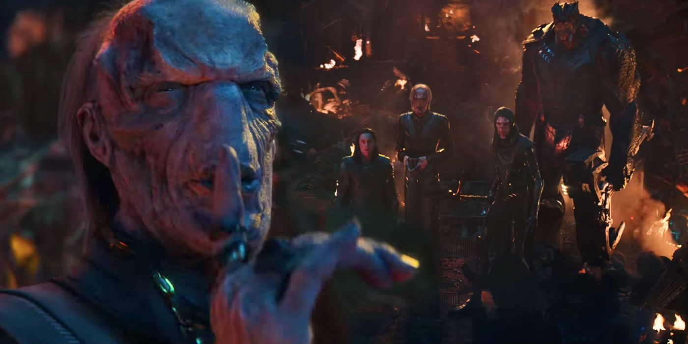 Infinity War Trailer Reveals Thanos' Black Order