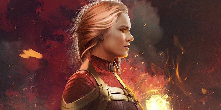 キャプテン・マーベル Hd: Avengers: Infinity War Directors Share Captain Marvel Art