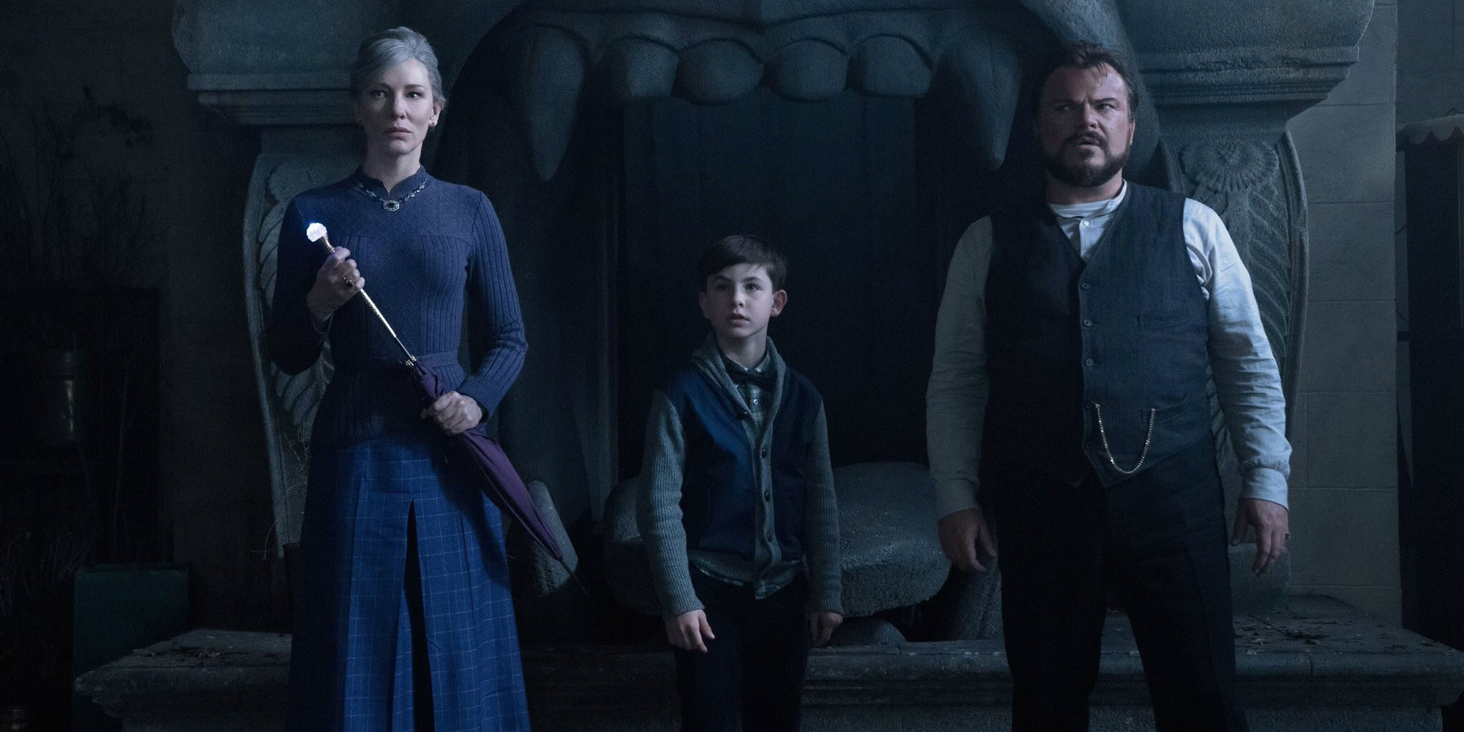 The house with a clock in its walls movie trailer for The house with a clock in its walls movie