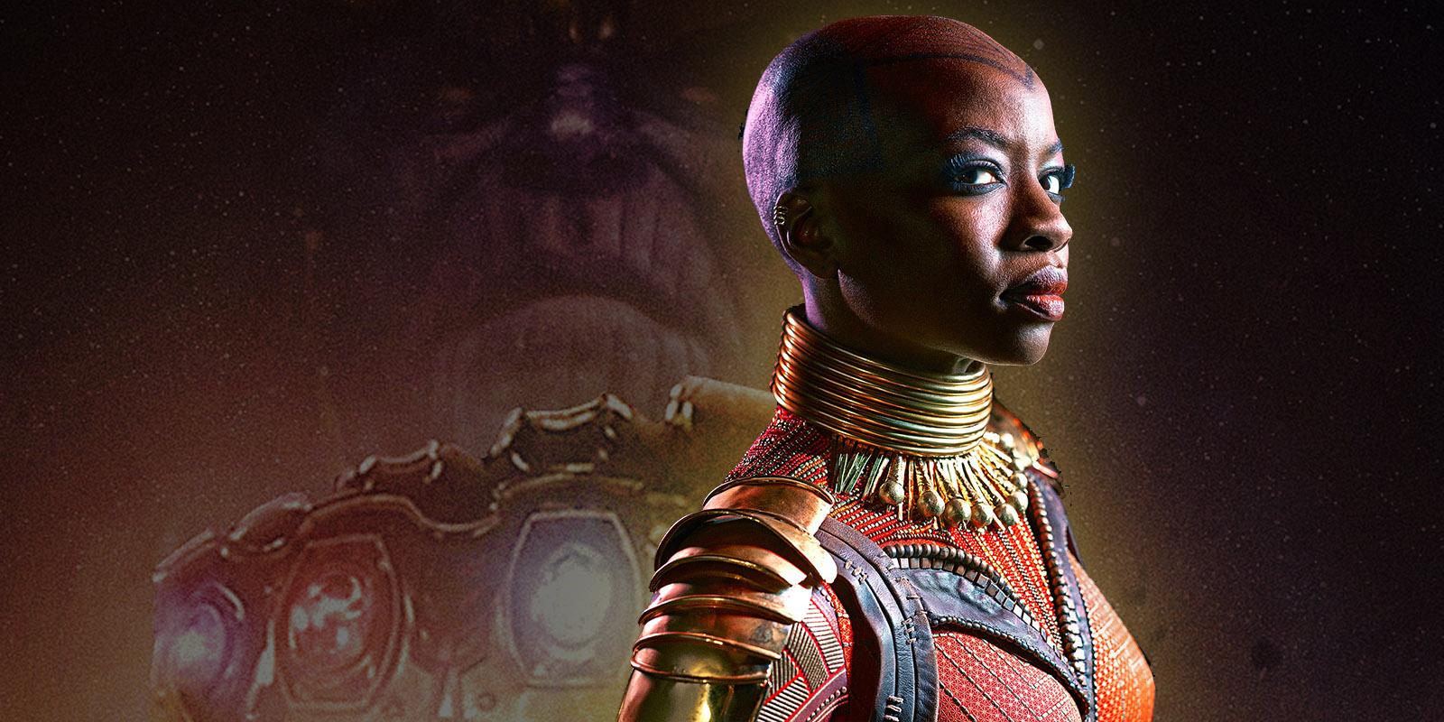 avengers: infinity war set visit interview with danai gurira