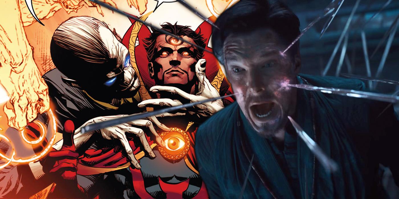 Avengers 3's Doctor Strange Torture Recreates A Comic Moment