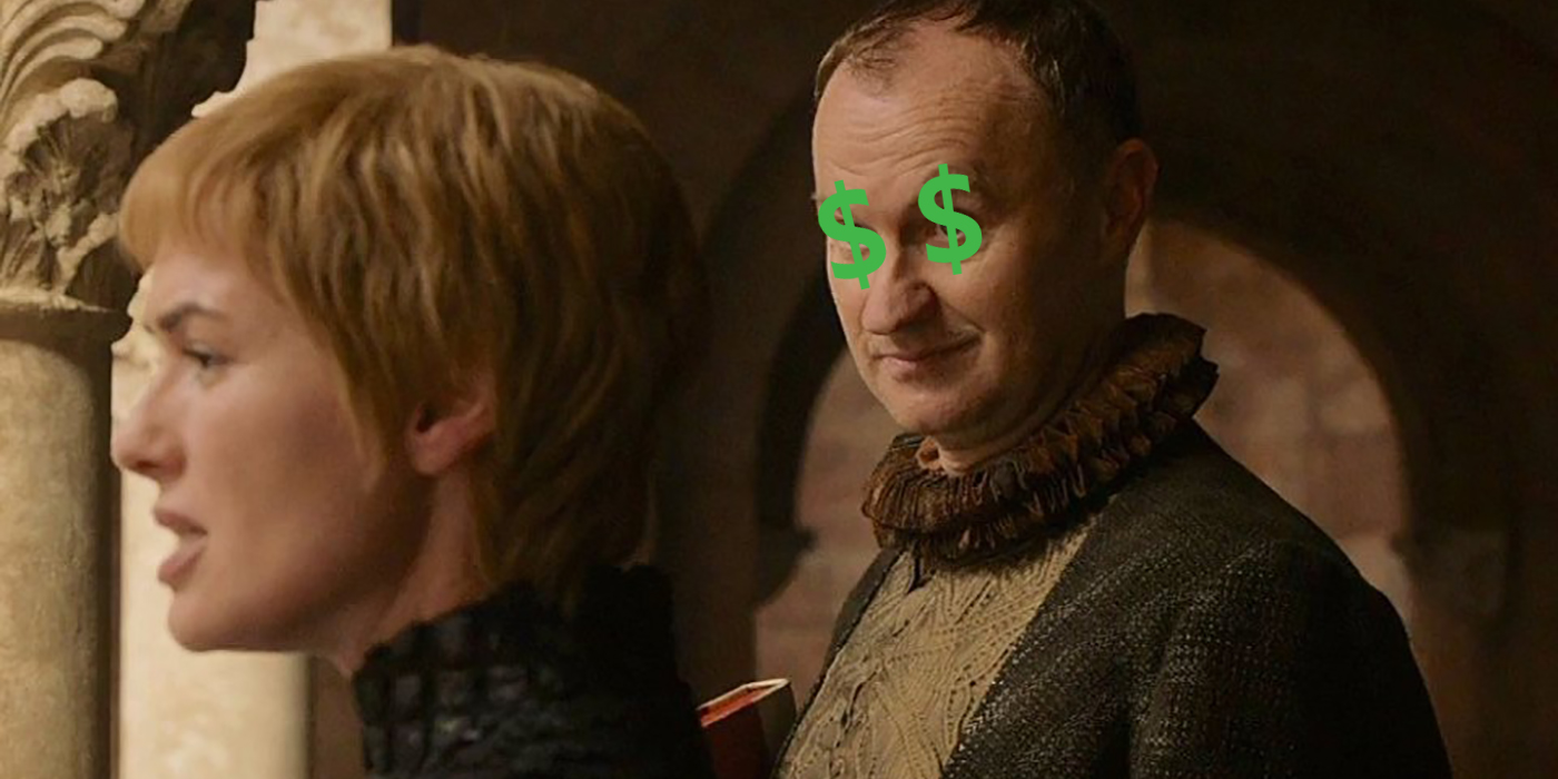 Game of Thrones Iron Bank budget