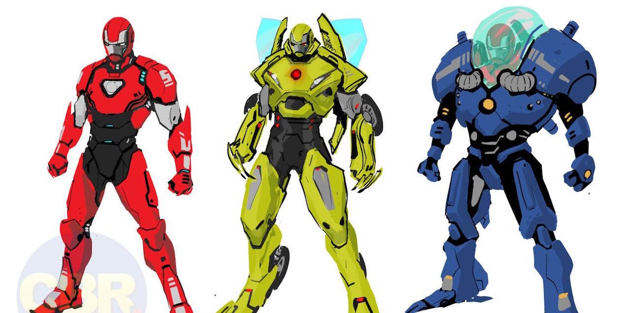 New Iron Man Armor Designs Revealed, 'Hundreds' To Come