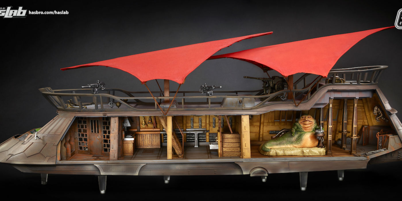 Jabba's Sail Barge (photo Hasbro)